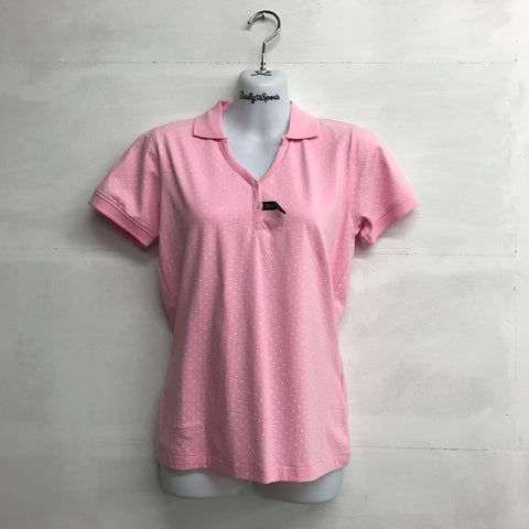 Glenmuir Imogen Shaped Polo - Pink - Pre2014