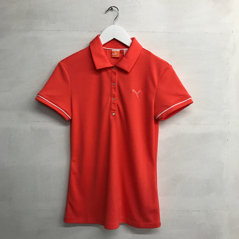 Puma Tech Polo - Hot Coral - SS2015