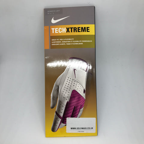 Nike Womens Tech Xtreme Glove Left - Pink