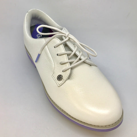 GFore Ladies Gallivanter Shoe - White/Purple - SS2015
