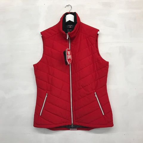Galvin Green Ladies Body Warmer - Electric Red - Pre2014
