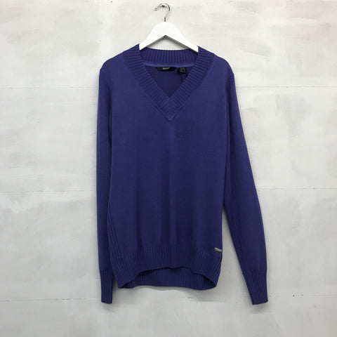 Abacus Ives Knitted Pullover - Purple - Pre2014