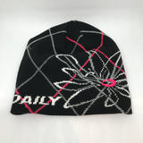 Daily Sport Ladies Prissy Beanie - Black/Grey/Red - AW2016