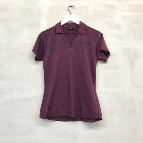 Glenmuir Gloria Polo - Grape/Navy - SS2014