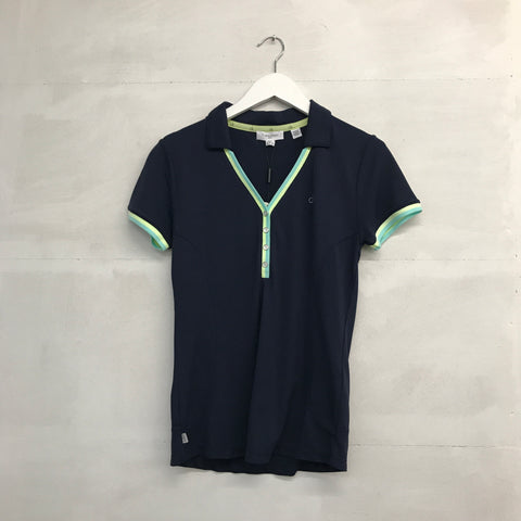 Calvin Klein Essence Polo - Midnight/Mint - SS2015