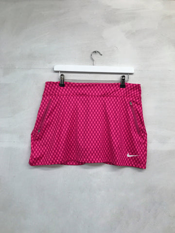 Nike Gingham Flight Skort - Pink - SS2015