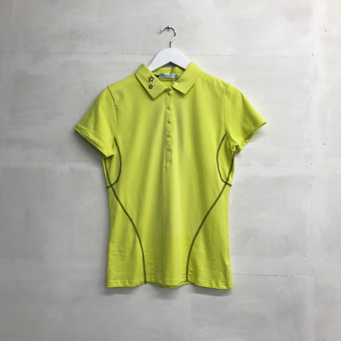 Green Lamb Carey Polo - Lime/Black - SS2015