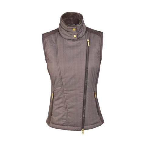 Daily Sports Katelyn Padded Gilet - Coffee - AW2017