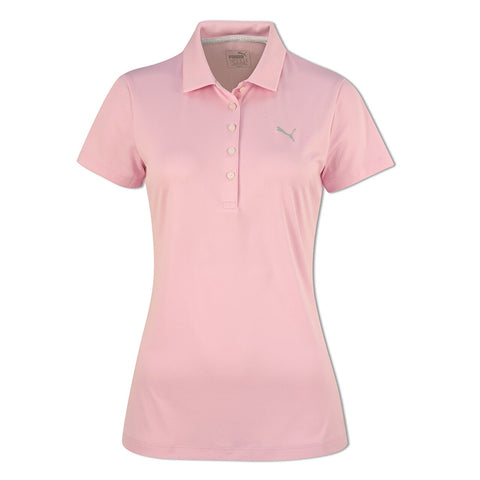 Puma Ladies Pounce Polo - Pale Pink