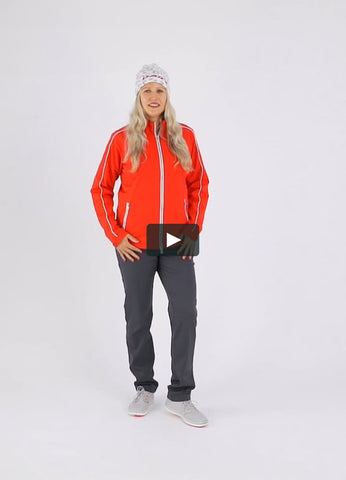 Daily Sports Peg Jacket - Red