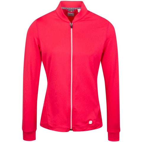 Puma Ladies Full Zip Jacket - Pink