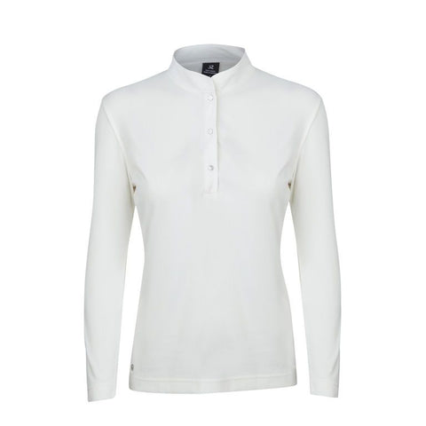 Daily Sports - Novalie Long Sleeve Polo - Ivory
