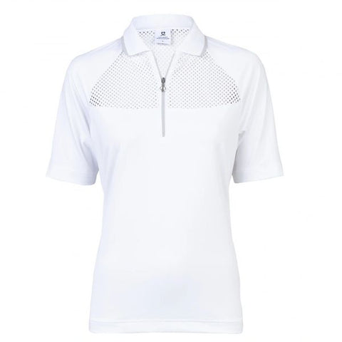 Daily Sports Half Sleeve Polo - White