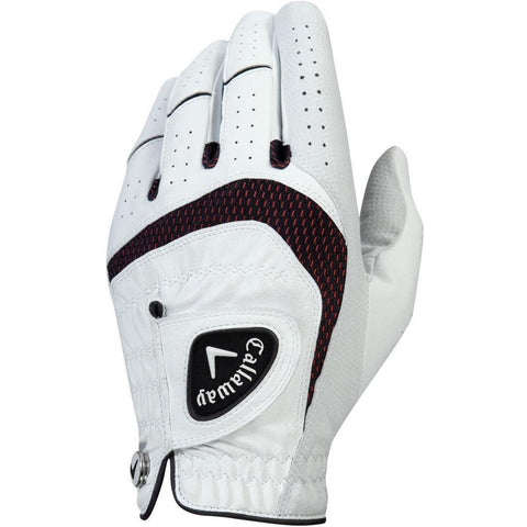 Callaway Ladies Syntech Glove Right - White - SS2019