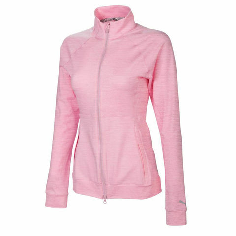 Puma Ladies Vented Full Zip Jacket - Pink