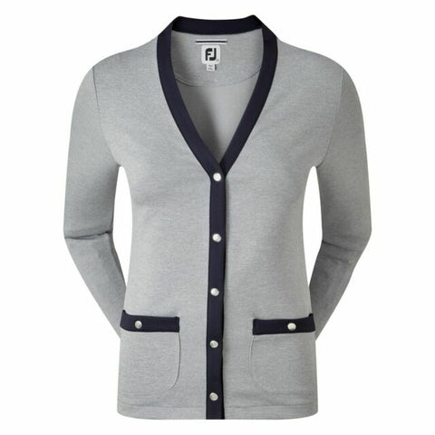 Footjoy Ladies Cardigan - Grey