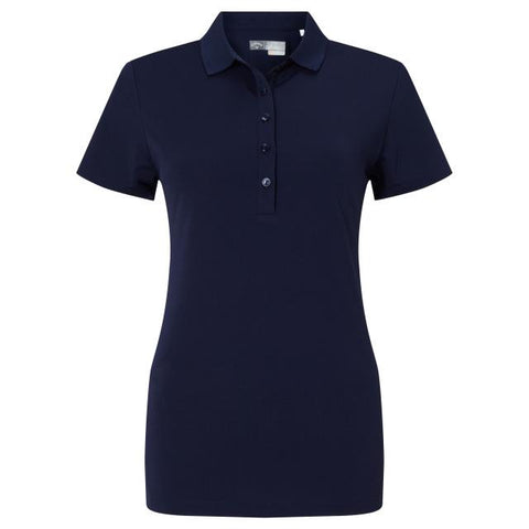 Callaway Micro Hex Polo - Peacoat - SS2018