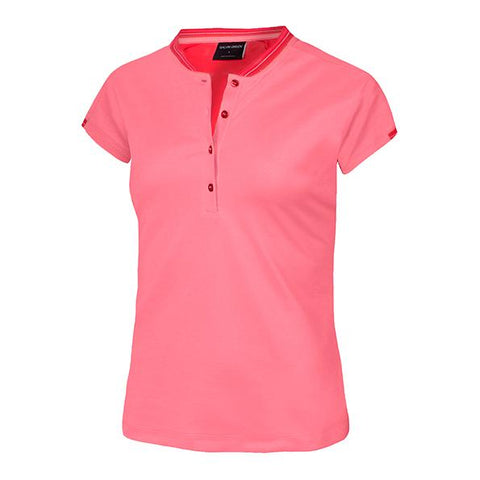 Galvin Green Maggie VENTIL8™ Short Sleeve Shirt - Pink Lily - SS2018
