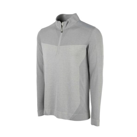 Puma Evoknit Seamless 1/4 Zip - Quarry - SS2018