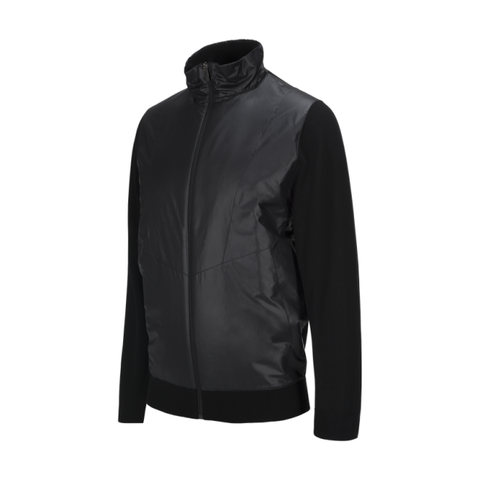 Peak Performance Mens Sandford Zipped Jacket - Black - SS2018
