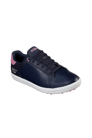 Skechers Ladies Drive Shimmer - Navy/Pink - 2019