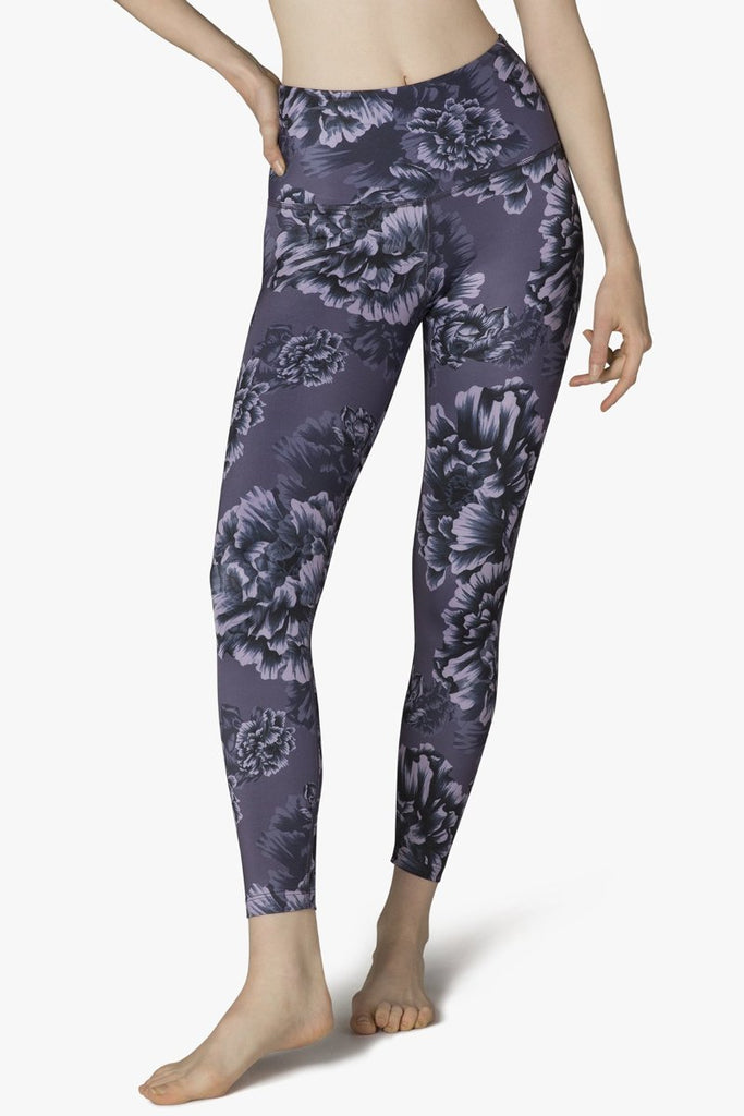 Peony High Waisted Midi Legging