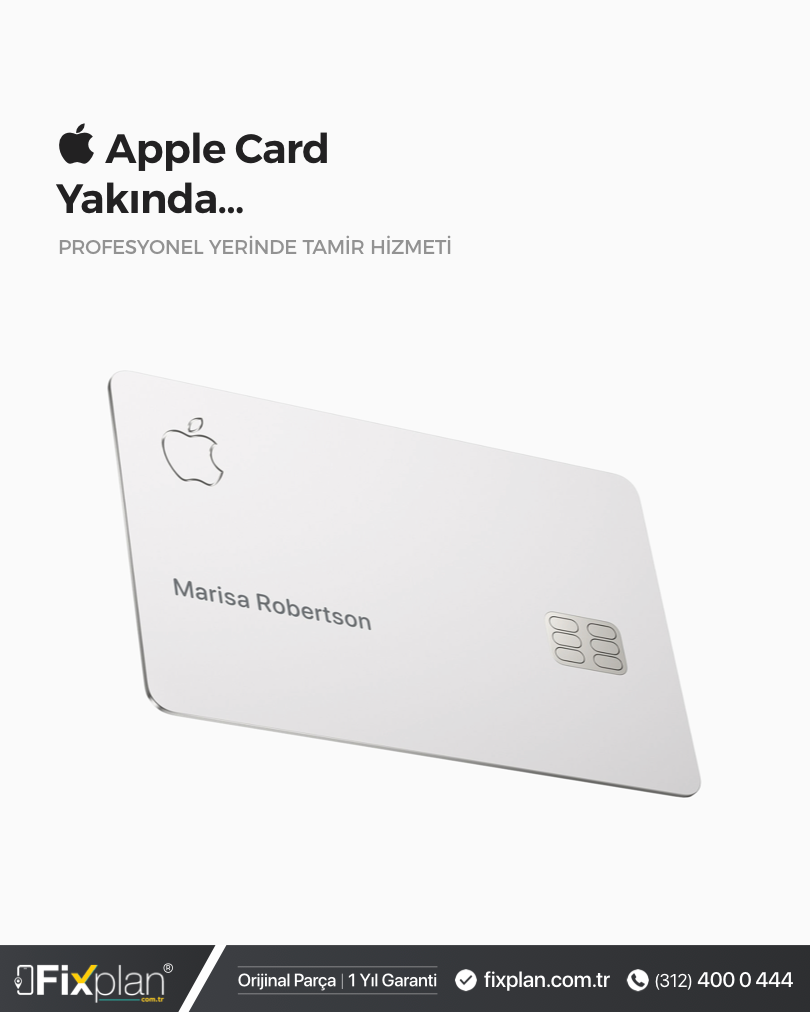 Apple Card - Apple Kredi Kartı