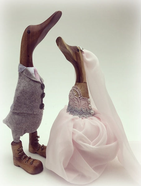 Wedding Couple ducks ~ Brides ~ Grooms ~ any combination
