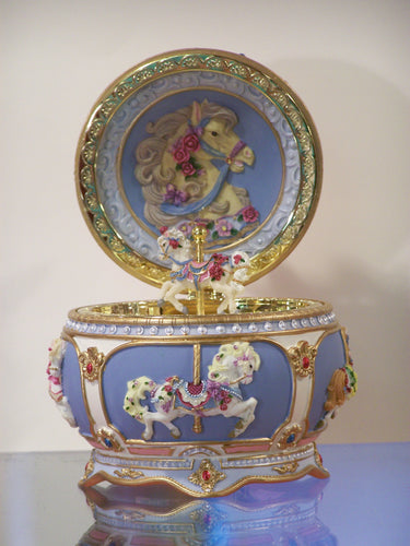 Carrousel Musical Trinket Box