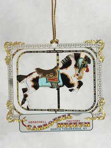 Brass Carrousel Museum Ornament