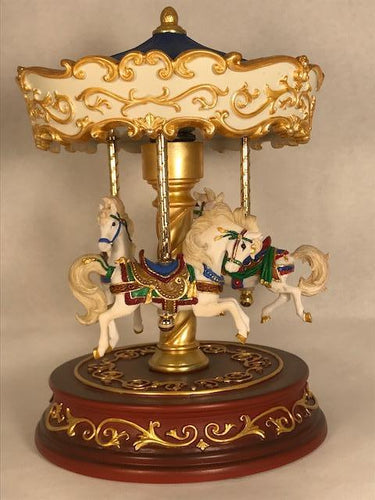Heritage 3-Horse Carousel