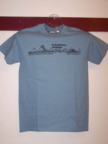 Allan Herschell Co. 100th Anniversary Adult Tee