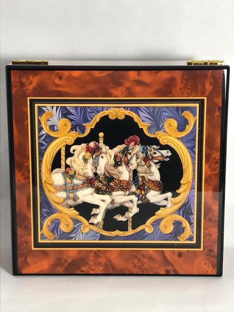 Carousel Horse Jewelry Box