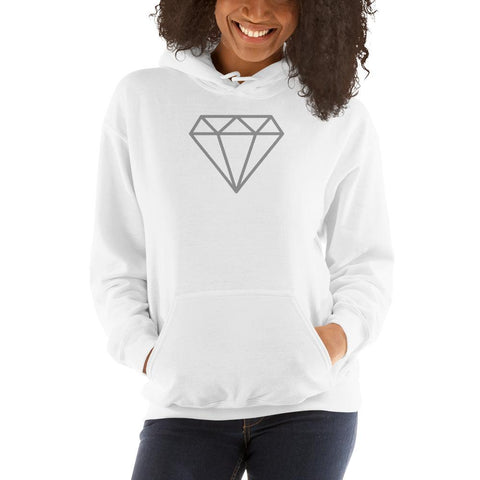 Diamond Hooded Sweatshirt-BohoBlissStore-BohoBlissStore