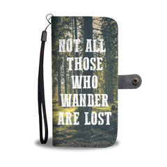 Into The Woods Wallet Phone Case