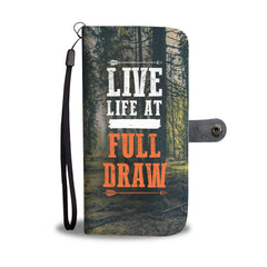 Live Life Bowhunting Wallet Phone Case