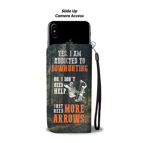 Bowhunting Addiction Phone Case