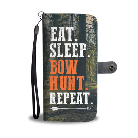 Bowhunting Mantra Wallet Phone Case