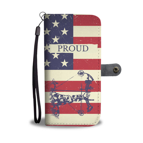 Proud American Bowhunting Phone Case