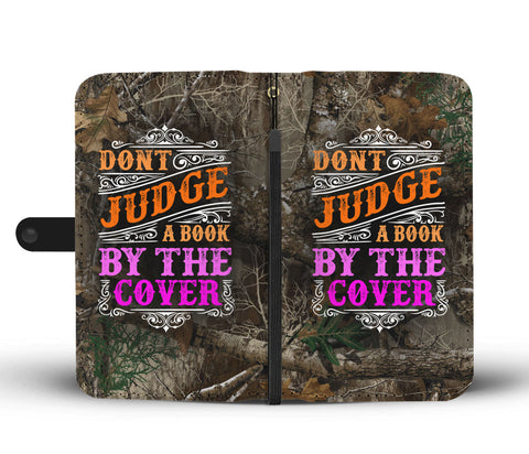Awesome Don't Judge Wallet Phone Case