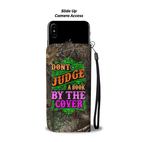 Awesome Judge A Book Wallet Phone Case