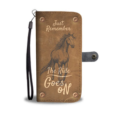 Awesome Just Remember Wallet Case