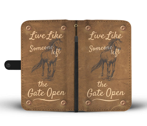 Awesome Live Like Wallet Case