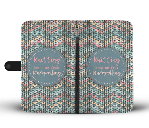 Knitting Wallet Case