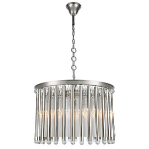 Maxwell 26 Pendant With 6 Lights - Polished Nickel Finish Pendant