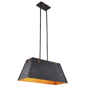 Chespeake 32 Island Pendant With 4 Lights - Vintage Bronze Finish Pendant
