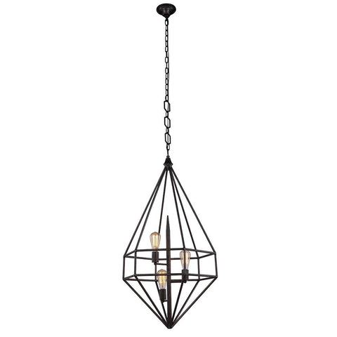 Marquis 22 Pendant With 3 Lights - Aged Iron Finish Pendant