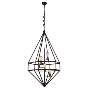 Marquis 30 Pendant With 5 Lights - Aged Iron Finish Pendant