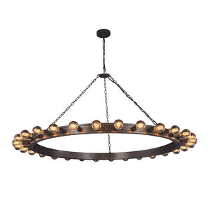 Winston 65 Pendant With 30 Lights - Aged Iron Finish Pendant