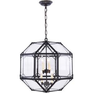 Gordon 19 Pendant With 4 Lights - Rustic Zinc Finish Pendant